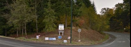 Snoqualmie Ridge Division II, parcel S-23 at the corner of SE 96th St and Snoqualmie Pkwy. Photo: Screenshot Google Maps.