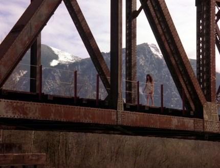 Reinig Road trestle bridge featured in Twin Peak television series. Photo: www.WelcometoTwinPeaks.com