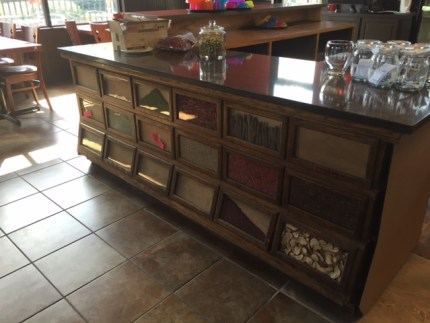 New front counter cabinetry at Thai Eatery