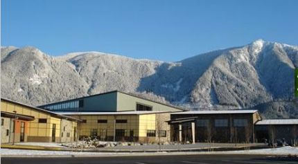Twin Falls Middle School in North Bend, WA. Photo: TFMS website