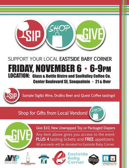 sip shop give