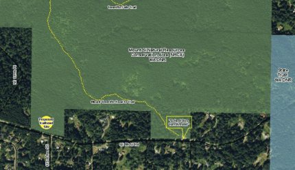 Proposed Mt Teneriffe trailhead site along Mt. Si Road in North Bend.