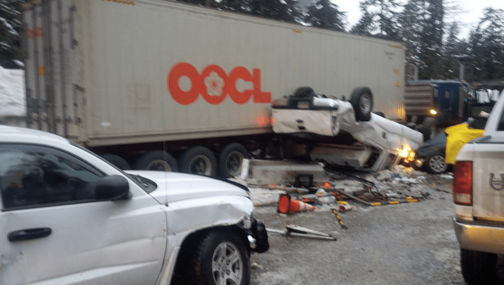 I-90 reopened over Snoqualmie Pass after Huge Accident forces Long