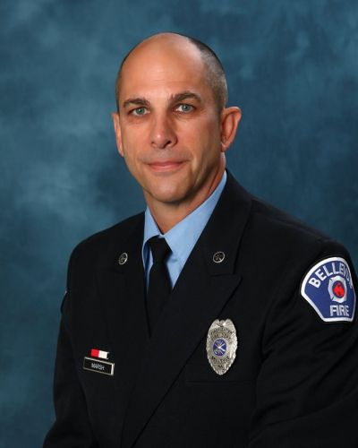 Bellevue Fire Lt. Chris Marsh. Photo: Bellevue Firefighters Facebook page