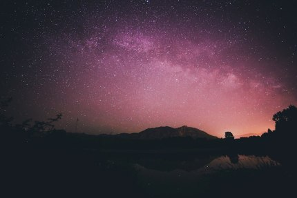 Milky Way over Millpond by Sam Saimo
