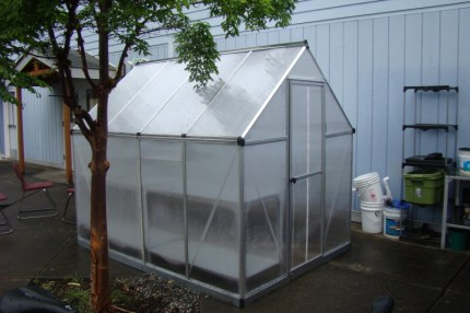 Two Rivers greenhouse. Photo: Donorschoose.org