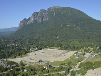 Site of new River Glen development in North Bend. Photo: Mary Miller