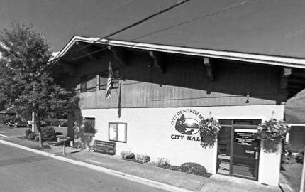 Current North Bend City Hall on Main Street. Photo: Google Maps screeshot