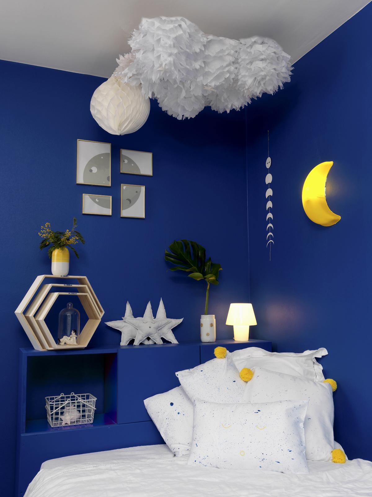DIY Redcorer Une Chambre Denfant Sur Le Thme De La Lune