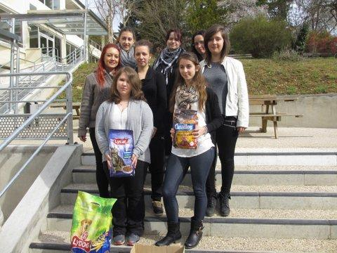 action of the mfr students of perigueux