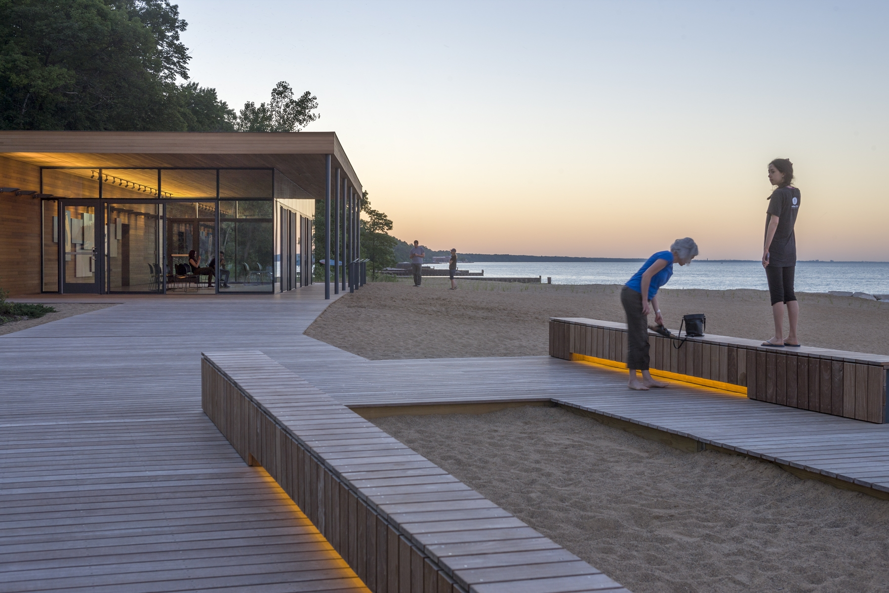 Rosewood Beach  Small Project Awards  AIA Chicago