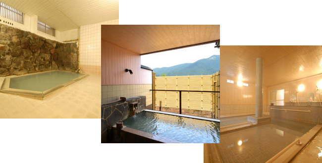 「強羅温泉  温泉ホテル強羅館  エメラルドグリーンの乳白色酸性湯が掛け流し」のアイキャッチ画像