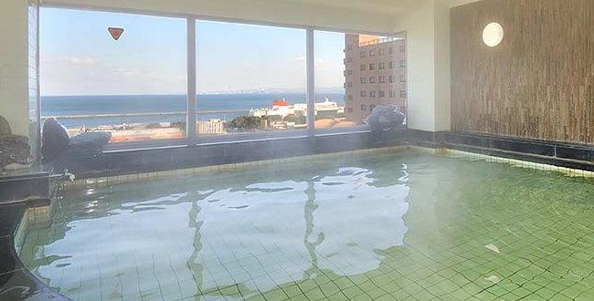 「別府温泉「ホテルサンバリー」~別府温泉の掛け流しがあるビジネスホテル」のアイキャッチ画像
