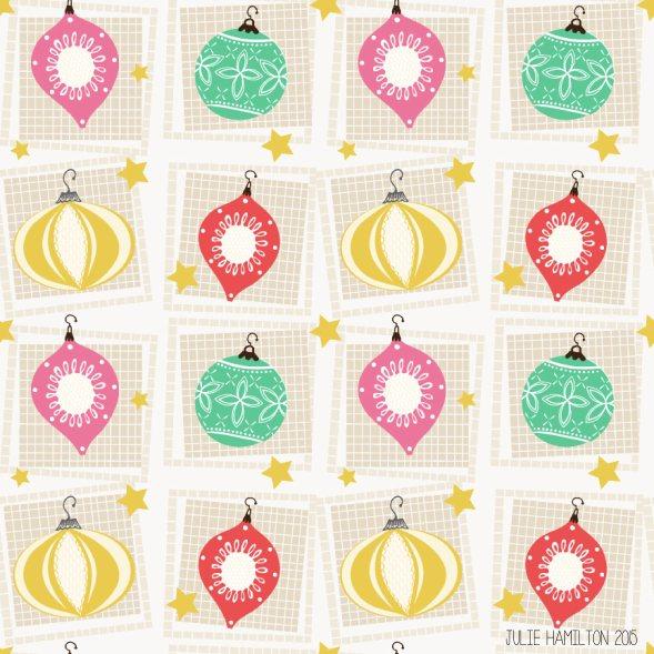 Vintage Christmas Balls - Julie Hamilton Creative {artistically afflicted blog}