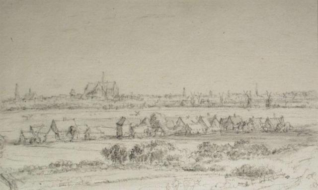 Jacob van Ruisdael, 'Gezicht op Haarlem'