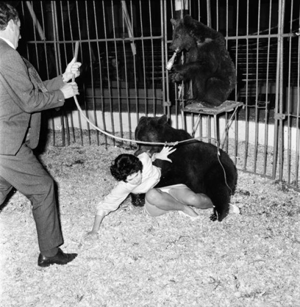Ria Kuijken en de beer