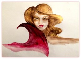 Artwork by Sinead Lane Acrylic on Paper