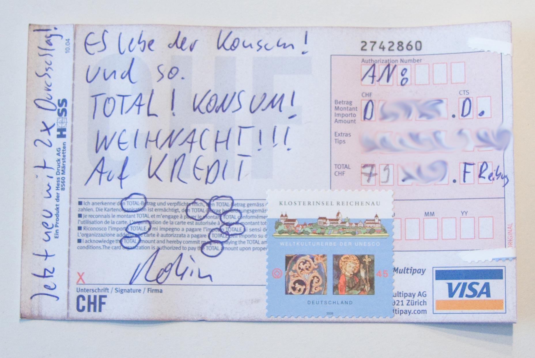 Visa-Formular