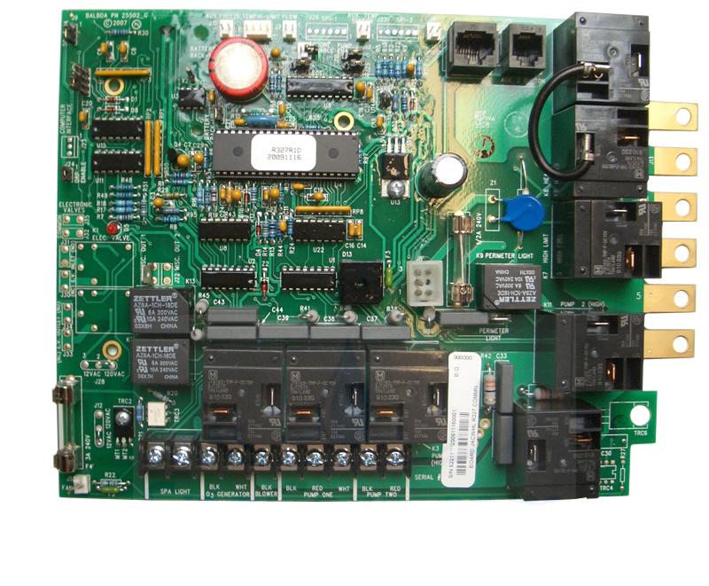 R327 R641 Jacuzzi Spa Circuit Board 52211