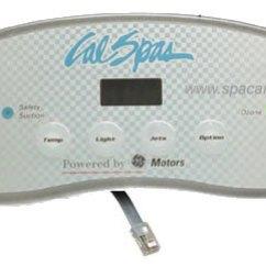 Cal Spa 5000 Wiring Diagram Tvss Topside Control System Cs Ele09200871