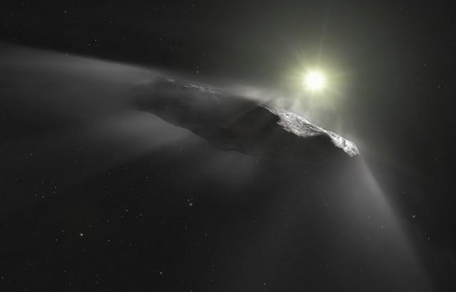 謎の彗星『オウムアムア』は異星人の探査機⁉ハーバード大教授が語る驚愕の真実