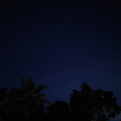 Mother Nature during night just before a sleep..(Don Varghese)