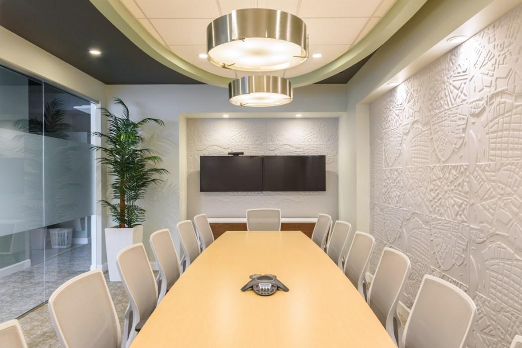 Conference room design detail