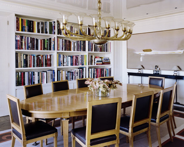 The Dining Library Space As Art
