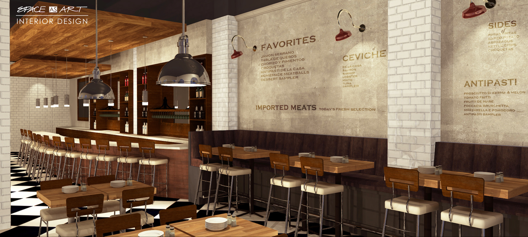 Creative Restaurant And Bar Design By Space As Art Interior Design Sarasota  Tampa