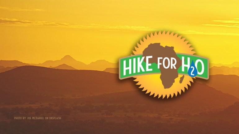 Hike for H2O logo