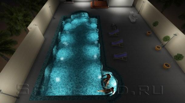 3D моделирование, расчет, проектирование и визуализация бассейна