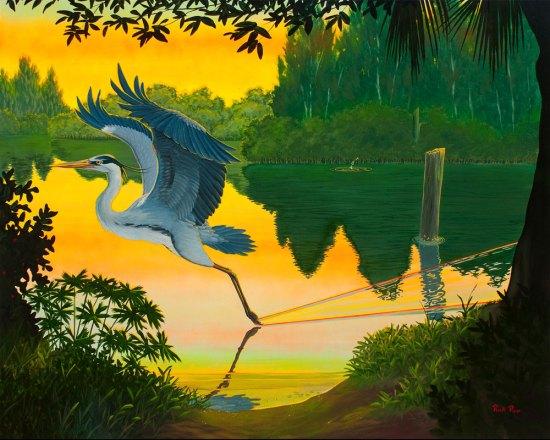 Rick Piper - Great Blue Glazing