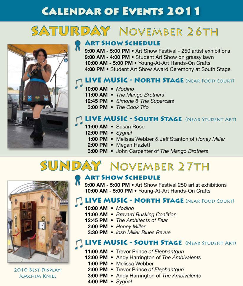 SCAF 2011 Schedule 2