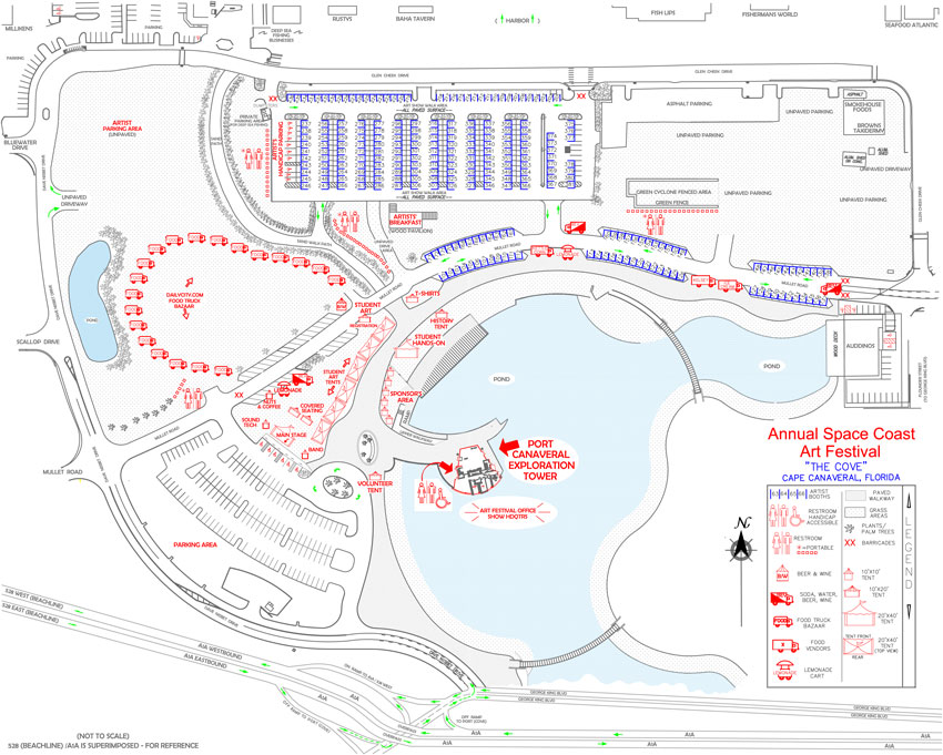 SCAF Map 2014 Cove