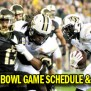College Football Bowl Game Schedule Results