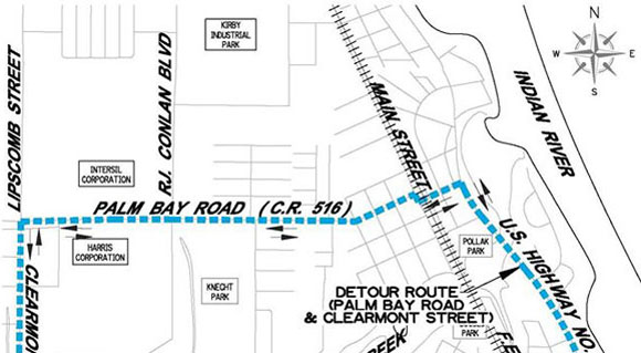 Portion of Port Malabar Road To Be Closed April 19-21