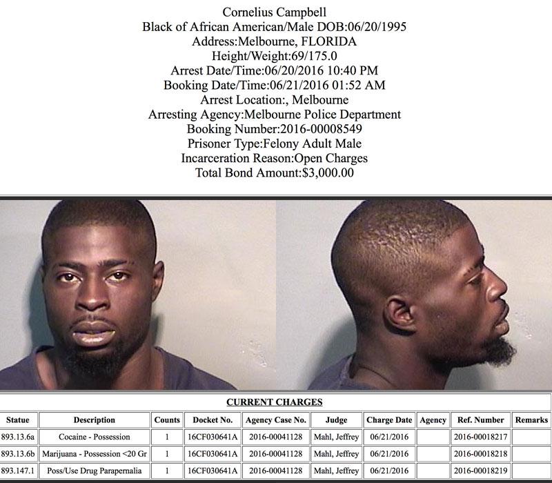 Arrests In Brevard County: June 22. 2016