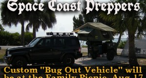 "Custom ""Bug Out Vehicle"" will be displayed at the Family Picnic and Fun Day- August 17th"