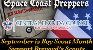 September is Boy Scout Month- Support Scouting in Brevard