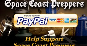 Sponsor Space Coast Preppers via Paypal
