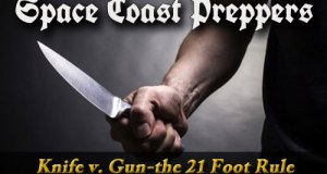 Video: Knife vs Gun- The 21 Foot Rule- Space Coast Preppers