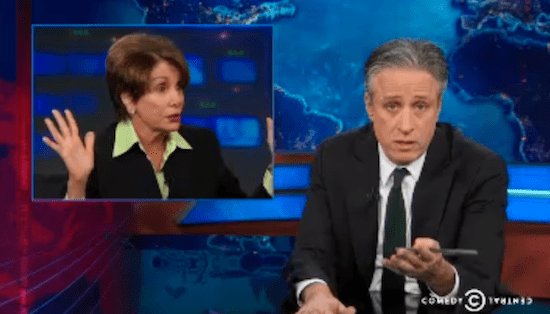 Jon Stewart Blasts Democrats, Points Out the Left's Hypocrisy on Corruption