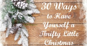 30 Ways to Have Yourself a Thrifty Little Christmas
