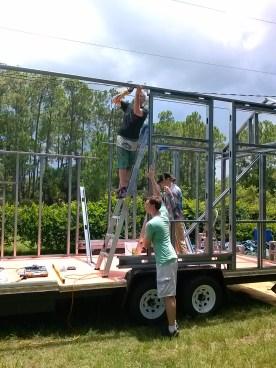 Ladders were needed...