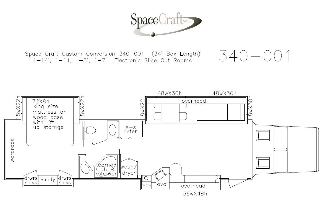 340-001   Spacecraft mfg