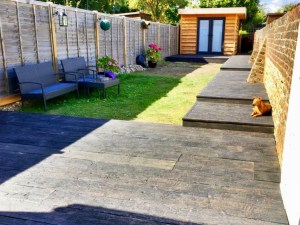 Stunning Millboard Garden Decking and Path