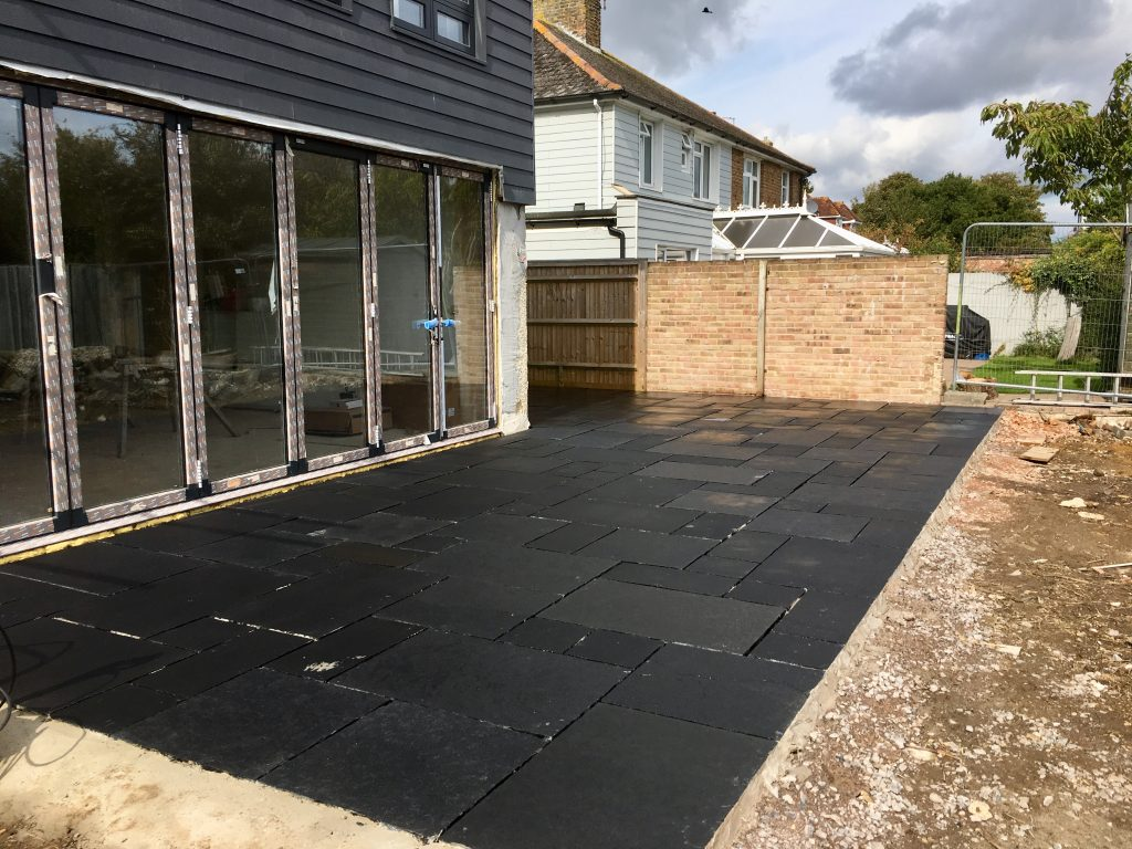 Black Stone Patio