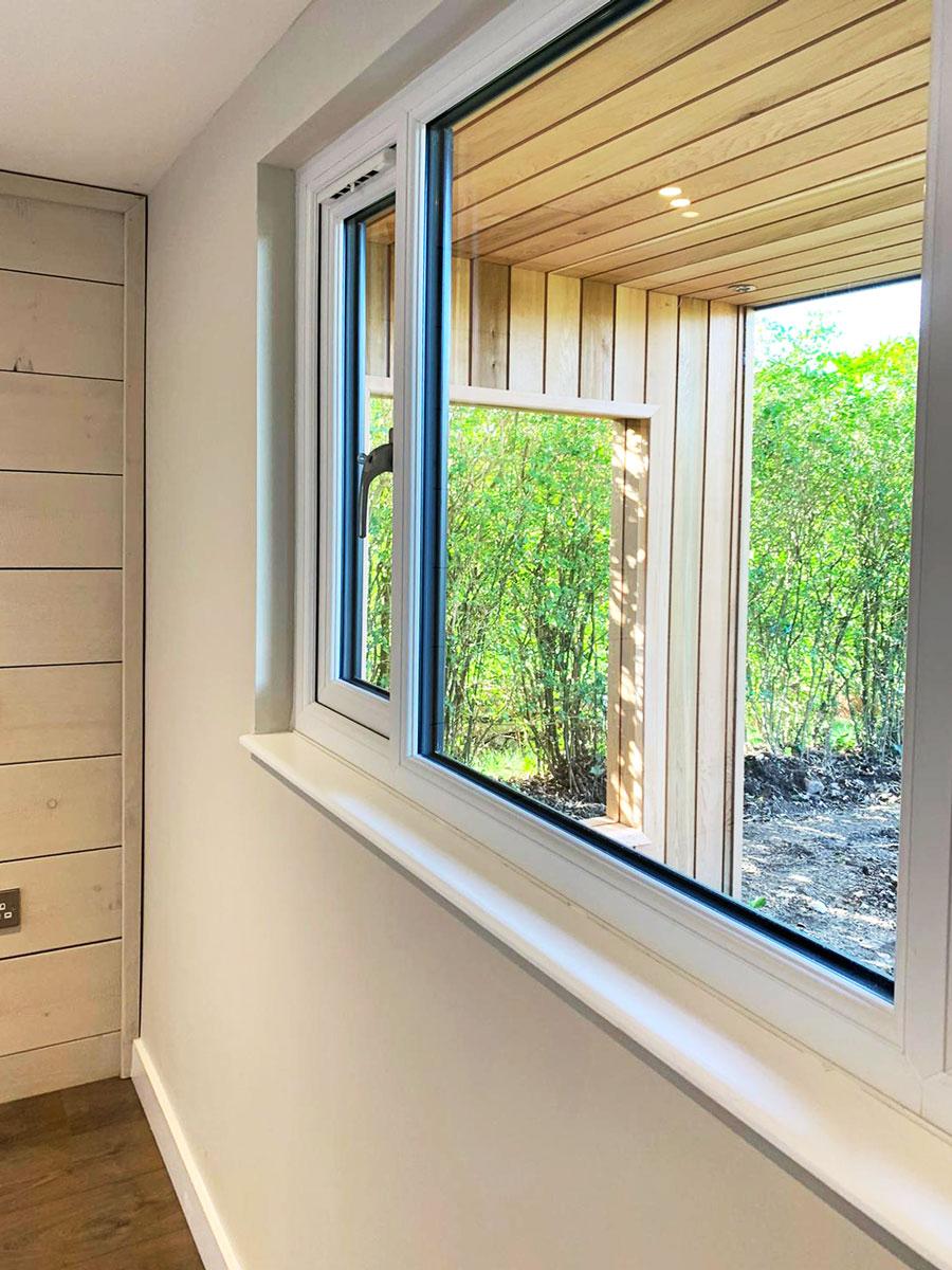 Garden Room UPVC Windows