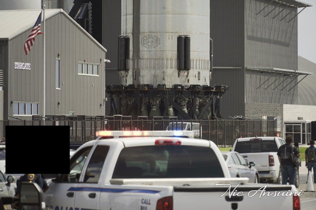 SpaceX Starship 20 Raptor engines
