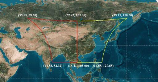 LMI Coverage Area - Image: CMA/NSMC